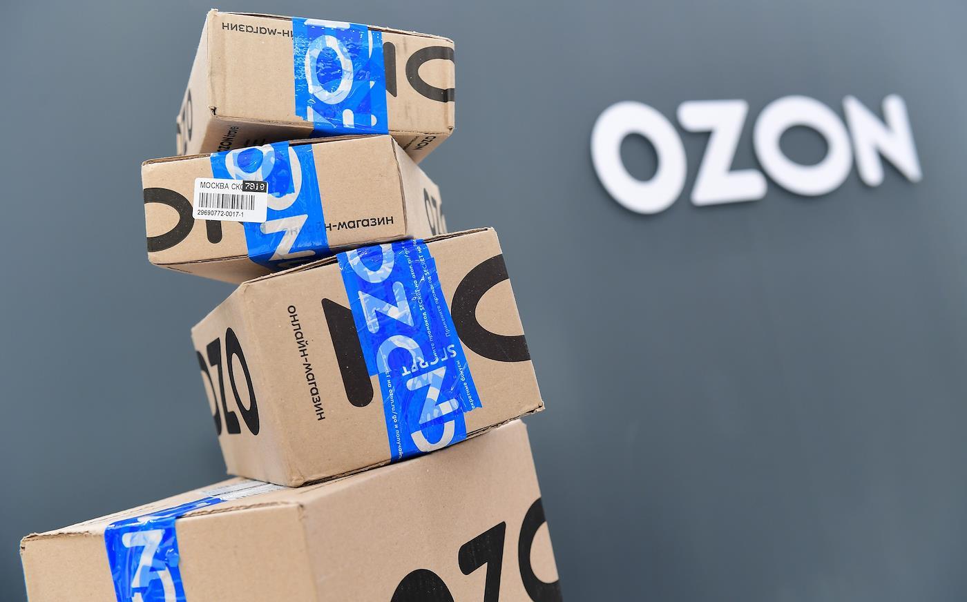 доставка озон